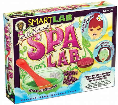 All Natural Spa Lab (toy and book), Free, Jenna Land