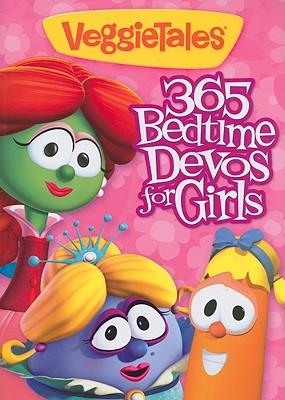 Image for VeggieTales: 365 Bedtime Devos for Girls