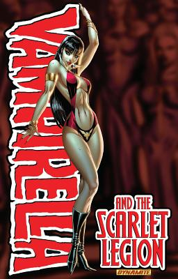Vampirella and the Scarlet Legion, Joe Harris  (Author), Jose Malaga (Artist)