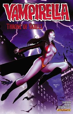 Vampirella Volume 3: Throne of Skulls TP (Vampirella (Dynamite)), Eric Trautmann (Author), Jose Malaga (Illustrator), Patrick Berkenkotter (Illustrator)