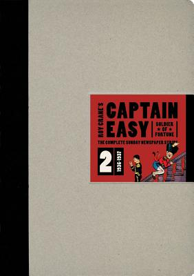 Image for Captain Easy, Soldier of Fortune: The Complete Sunday Newspaper Strips 1936-1937 (Vol. 2)  (Roy Crane's Captain Easy)