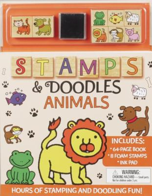 Stamps and Doodles: Animals (Stamps & Doodles), Popescu, Anna Ildiko