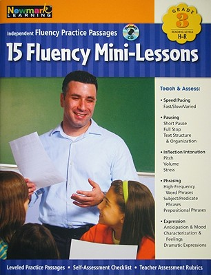 Image for Fluency Mini-Lessons Grade 3 with Audio CD (Independent Fluency Practice Passages)