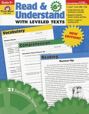 Read & Understand with Leveled Texts, Grade 6, Evan Moor (Author)