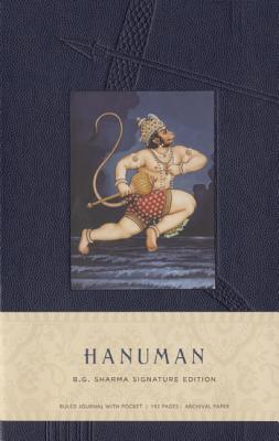Image for Hanuman Hardcover Ruled Journal: B.G. Sharma Signature Edition (Insights Journals)