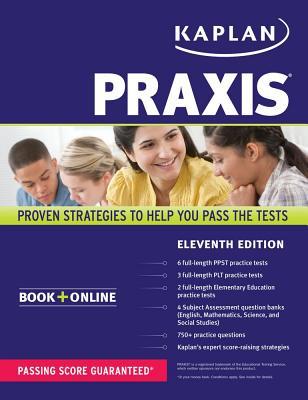 Image for PRAXIS: Book + Online (Kaplan Test Prep)