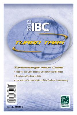 Image for 2012 International Building Code Turbo Tabs for Soft Cover Edition (International Code Council Series)