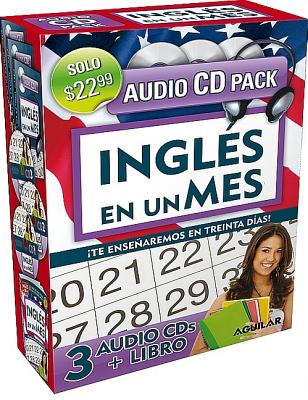 Ingles en un mes (Libro + 3 CDs) / English in a Month (Book + 3 CDs) (Ingles en 100 Dias) (Spanish Edition), Aguilar (Author, Editor)