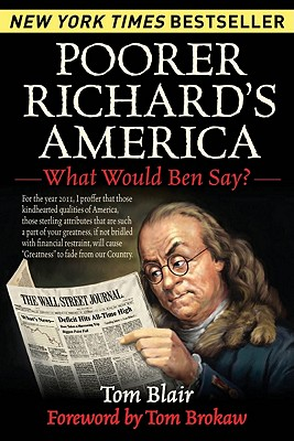 Image for POORER RICHARD'S AMERICA : WHAT WOULD BEN SAY?