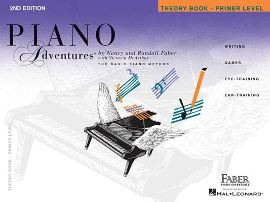 Image for Primer Level - Theory Book: Piano Adventures