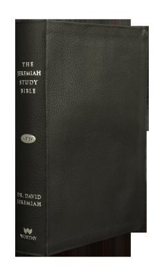 Image for The Jeremiah Study Bible, NKJV: Black Leather