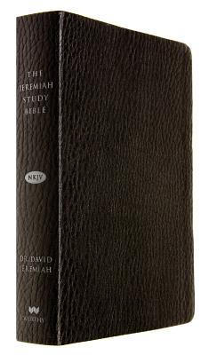 Image for The Jeremiah Study Bible, NKJV: Black LeatherLuxe(TM)