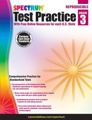 Image for Spectrum Test Practice, Grade 3