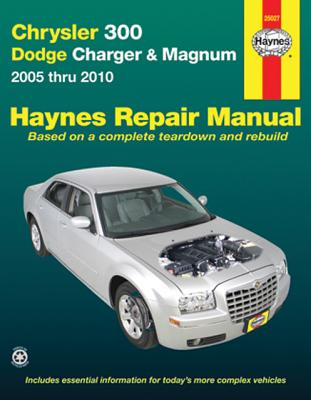 Image for Title Chrysler 300 - Dodge Charger & Magnum: 2005 thru 2010 (Haynes Repair Manual)