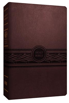 Image for MEV Bible Personal Size Large Print Cherry Brown: Modern English Version