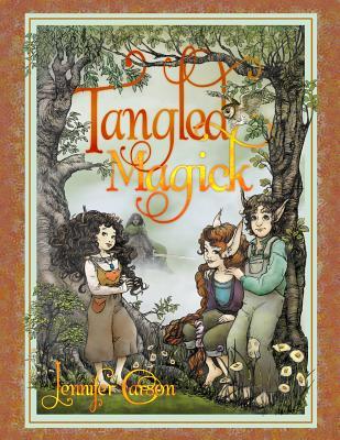 Tangled Magick (The Hapenny Magick Series), Carson, Jennifer