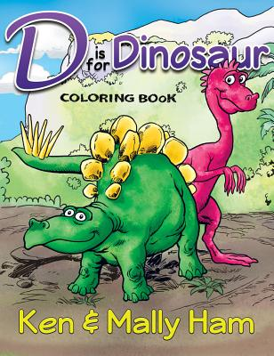 Image for D is for Dinosaur Coloring Book
