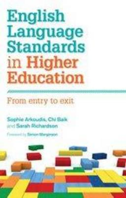 Image for English Language Standards in Higher Education  From Entry to Exit