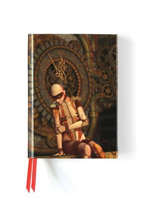 Image for Steampunk Mannequin (Foiled Journal) (Flame Tree Notebooks)