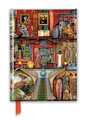Image for Aimee Stewart: Museum Bookshelves (Foiled Journal) (Flame Tree Notebooks)