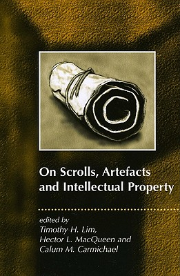 Image for On Scrolls, Artefacts and Intellectual Property (JSP Supplements)