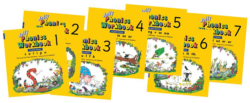 Jolly Phonics Workbooks 1-7, Lloyd, Sue