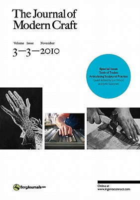 Image for The Journal of Modern Craft Volume 3 Issue 3