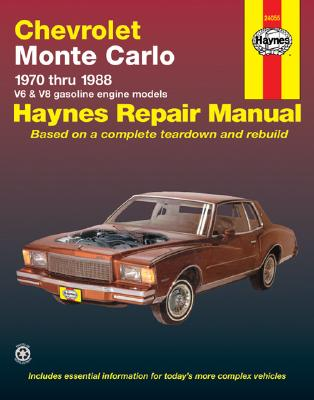 Image for CHEVROLET MONTE CARLO 1970-1988 AUTOMOTIVE REPAIR GUIDE