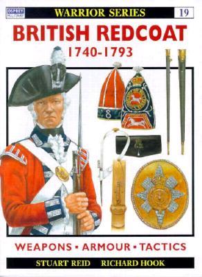Image for BRITISH REDCOAT 1740-1793 WARRIOR SERIES #19
