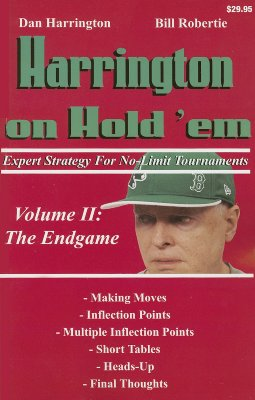 Image for Harrington on Hold 'em : Expert Strategy for No-Limit Tournaments: The Endgame