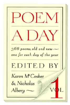 Image for Poem a Day: Vol. 1: 366 Poems, Old and New - One for Each Day of the Year
