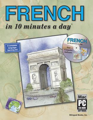 Image for FRENCH in 10 minutes a day with CD-ROM
