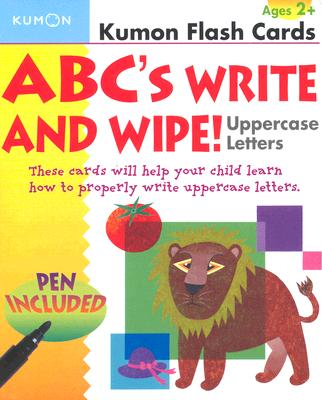 Image for ABCs Uppercase Write & Wipe Flash Cards (Kumon Flash Cards)