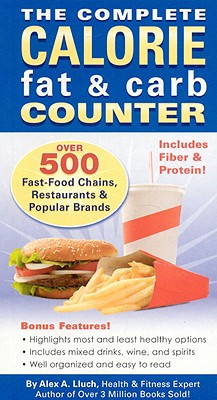 Image for The Complete Calorie, Fat & Carb Counter