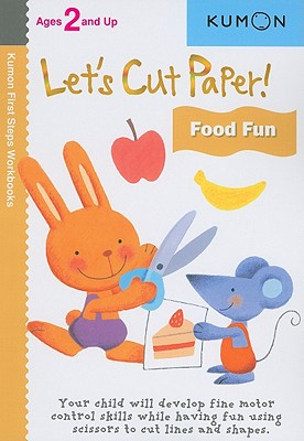 Image for Kumon Lets Cut Paper Food Fun