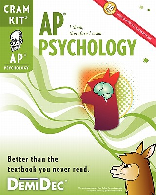 AP Psychology Cram Kit: Better than the textbook you never read., DemiDec