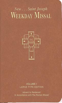 St. Joseph Weekday Missal: Large Type Edition, Bcl
