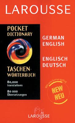 Image for Larousse Pocket German/English English/German Dictionary