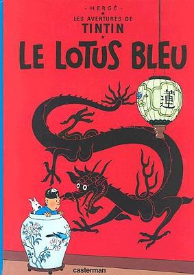 Le Lotus Bleu, Herge,