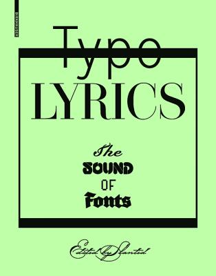 Image for Typo Lyrics: The Sound of Fonts