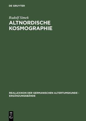 Image for Altnordische Kosmographie (Reallexikon Der Germanischen Altertumskunde - Ergänzungsbänd) (German Edition)
