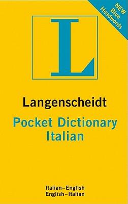 Image for Langenscheidt Pocket Dictionary Italian