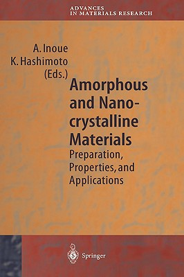 Image for Amorphous and Nanocrystalline Materials