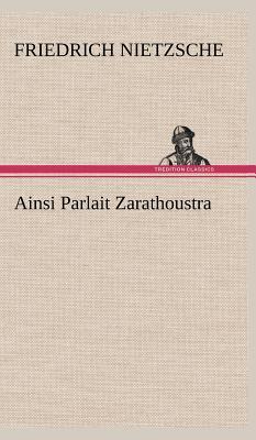 Image for Ainsi Parlait Zarathoustra (French Edition)