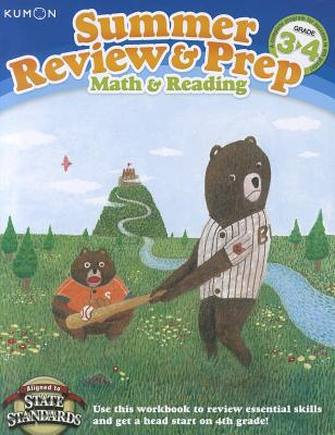 Image for Summer Review & Prep: 3-4: Math & Reading