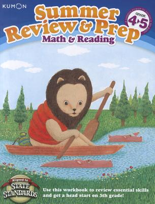 Image for kumon Summer Review & Prep: 4-5: Math & Reading