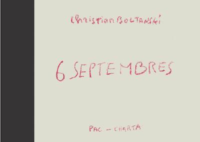 Image for Christian Boltanski: 6 Septembres