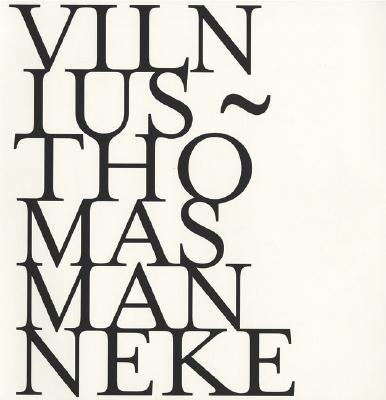 Image for Thomas Manneke: Vilnius